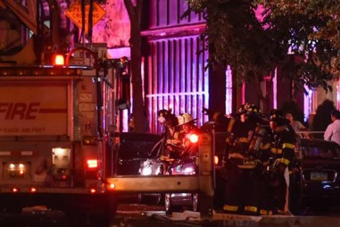 Nổ bom ở Manhattan, New York 9/2016